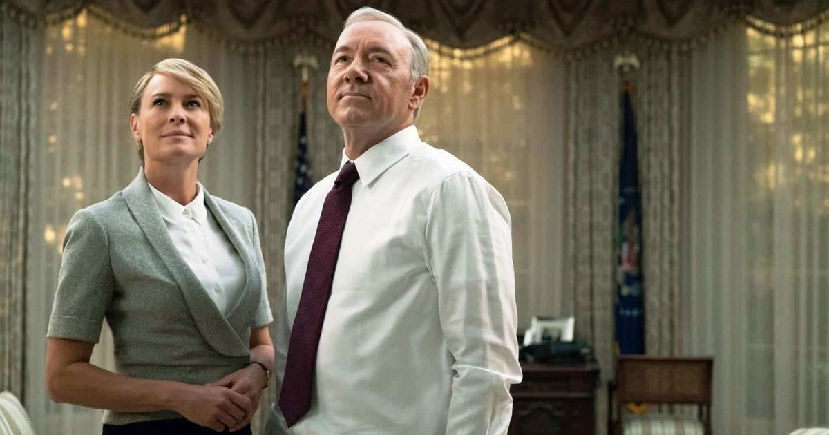 We were surprised, saddened, says 'House of Cards' star Robin Wright about Kevin Spacey allegations