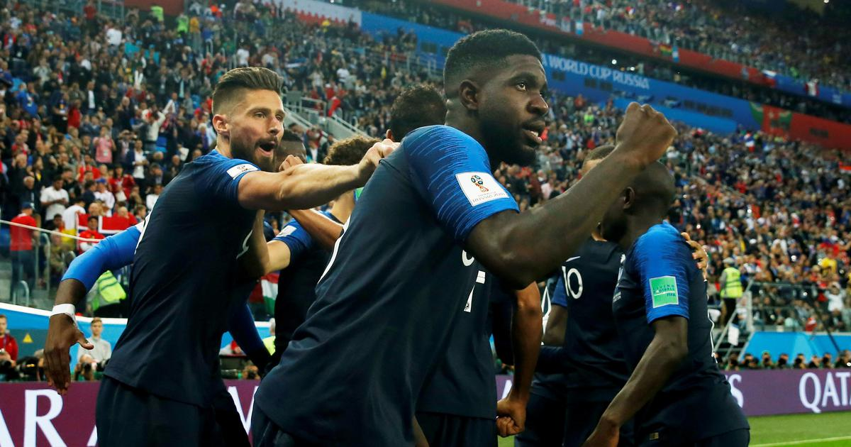 Russia 2018: Samuel Umtiti heads France into the final of the World Cup as Belgium go down 1-0