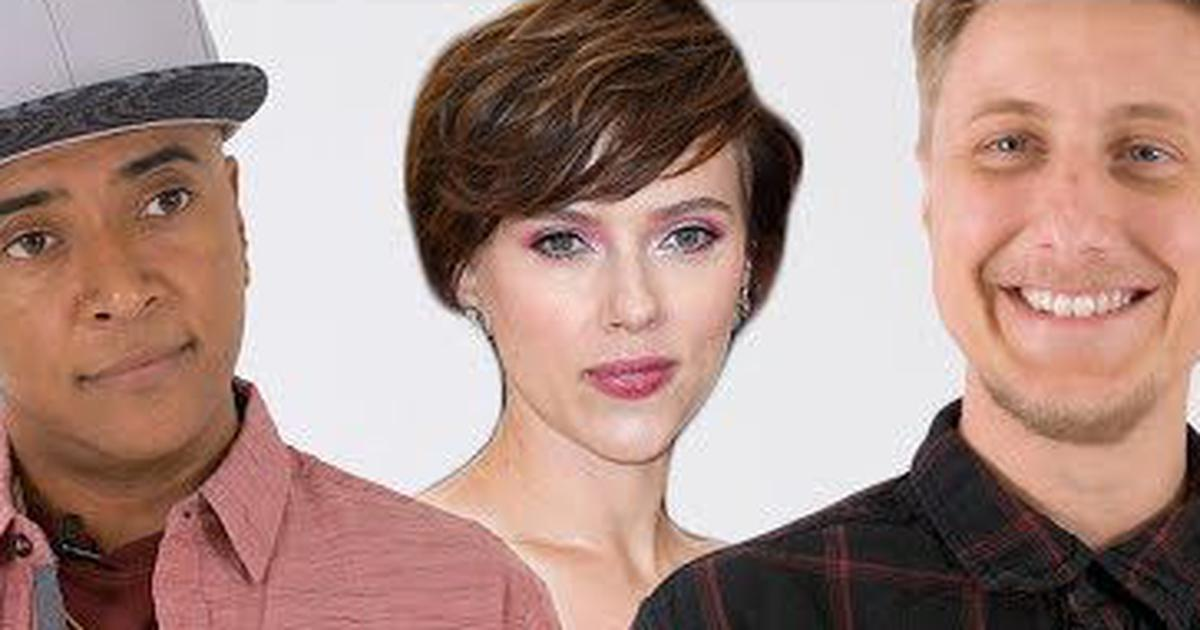 Scarlett Johansson Rub Tug Row Trans Actors Audition For Actress S Old Roles In Parody Video