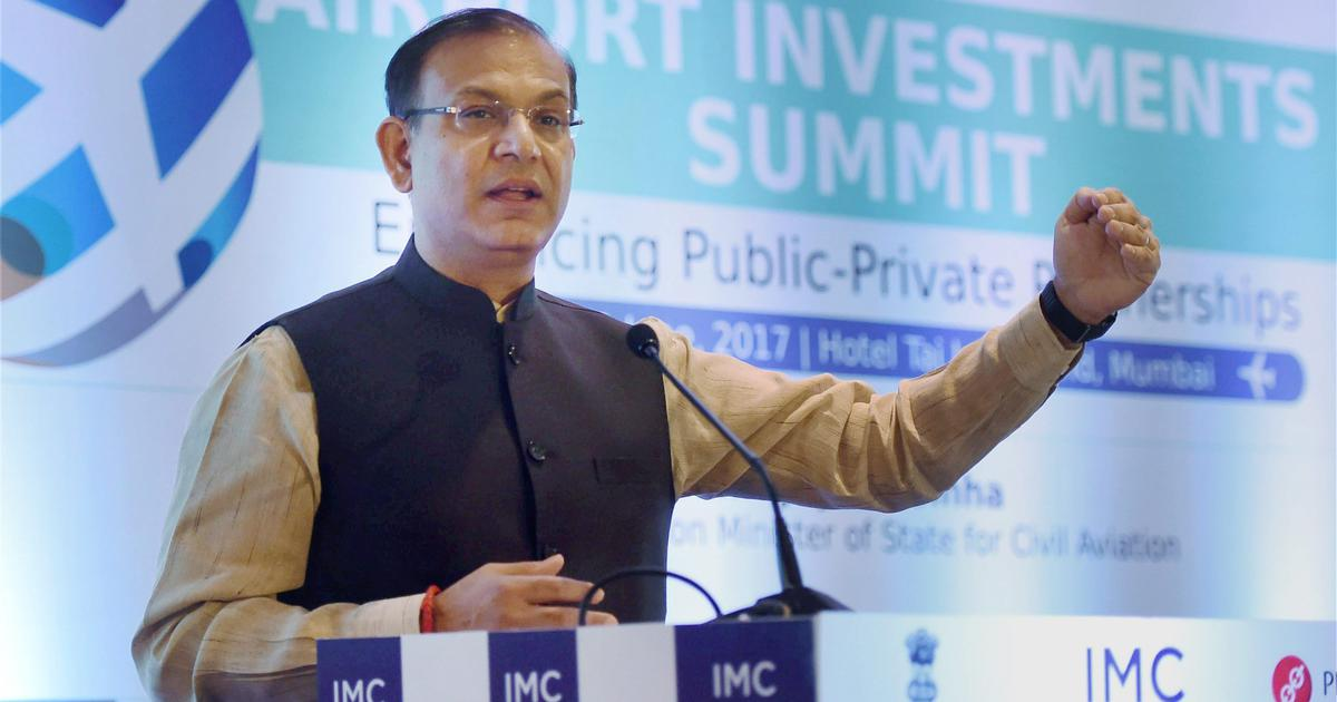 'I express regret', says Jayant Sinha after criticism over garlanding lynching convicts