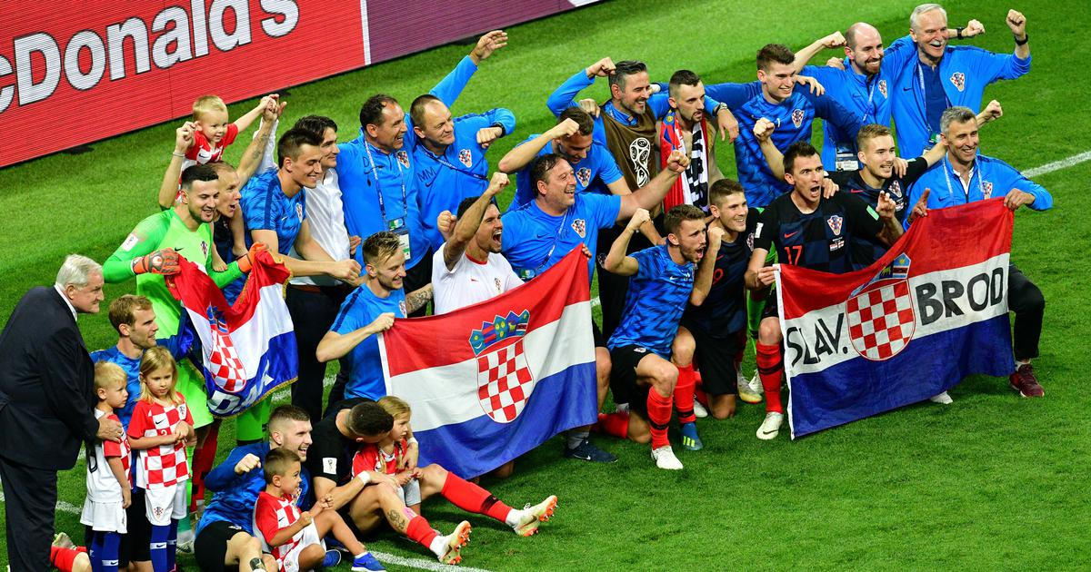 Guts and glory: The never-say-die spirit of Croatia has got them to their first World Cup final