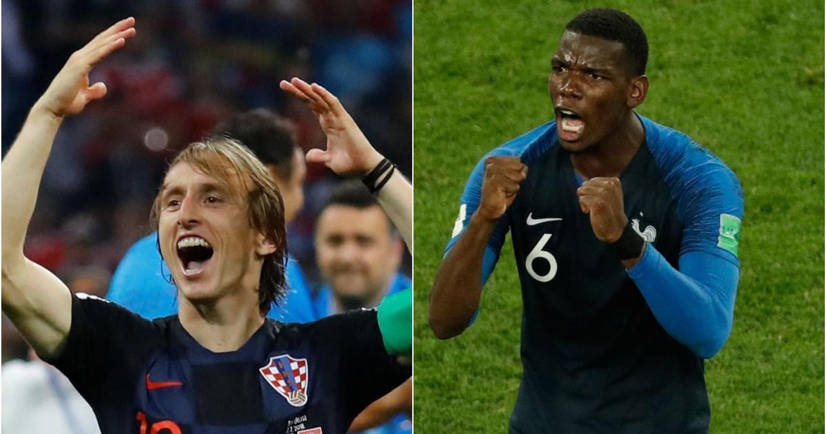Modric v Pogba, Mandzukic v Varane, Brozovic v Griezmann: Three battles to look out for in final