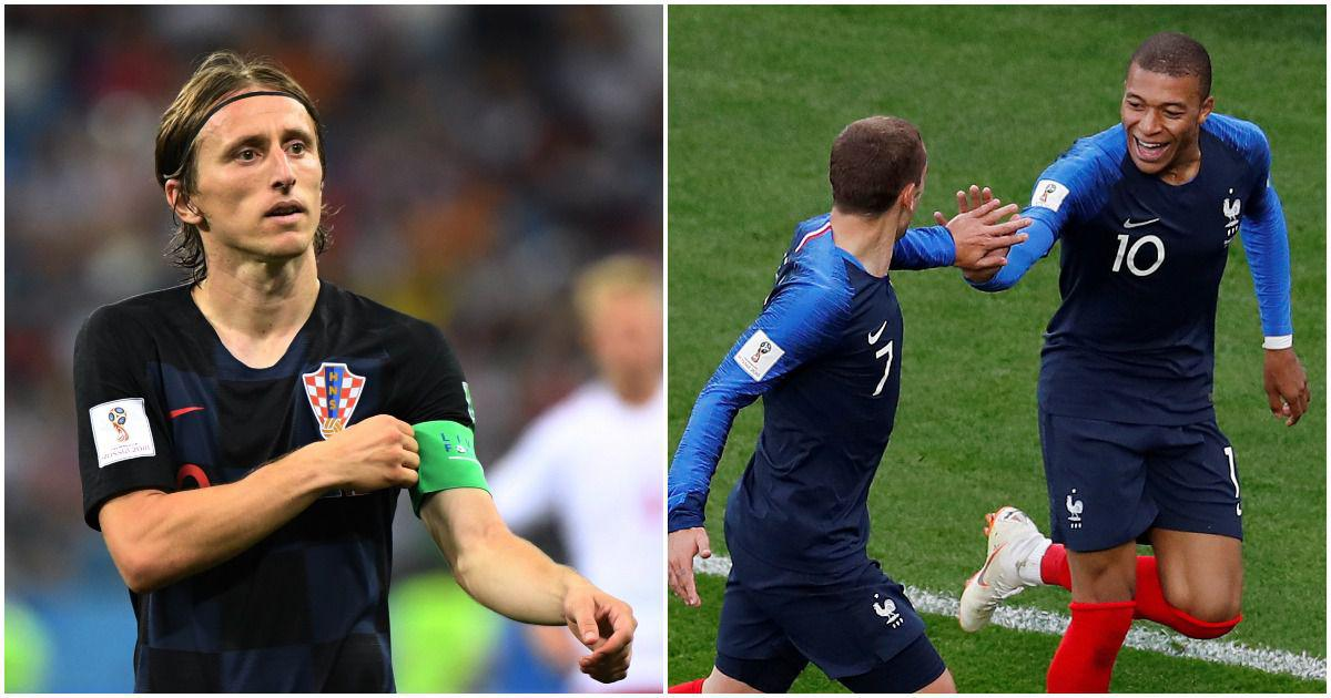 World Cup final, statistical preview: France eye second title, Croatia seek first win over Les Bleus