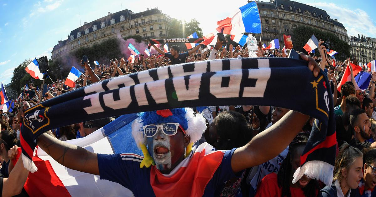 World Cup final: France looks to football team to regain its lost joie de vivre and national unity