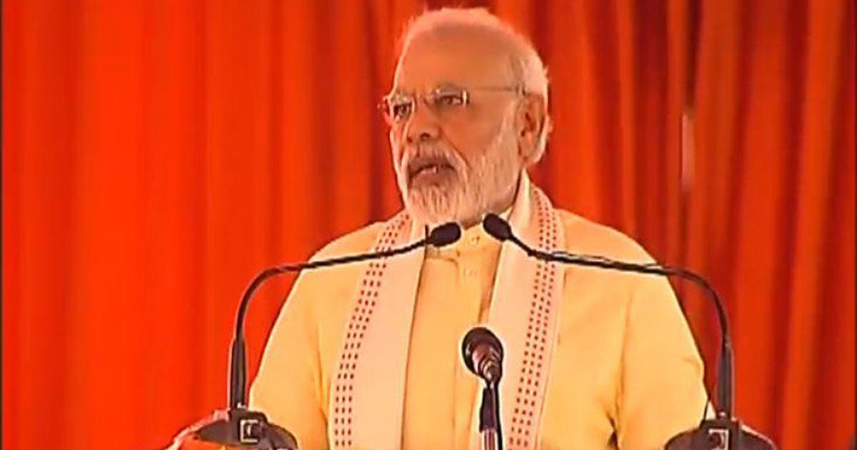 Previous governments left development projects incomplete, Narendra Modi says in Uttar Pradesh