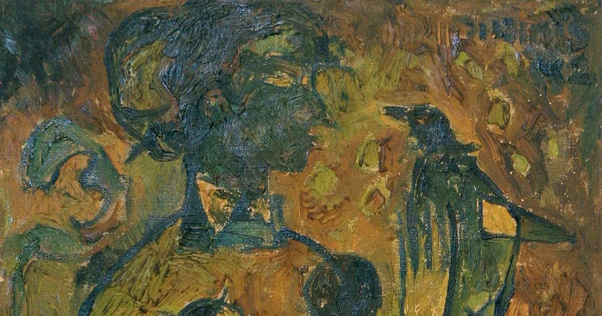 Before Bhanu Athaiya, the Oscar-winning designer, there was Bhanu Athaiya, the modernist painter