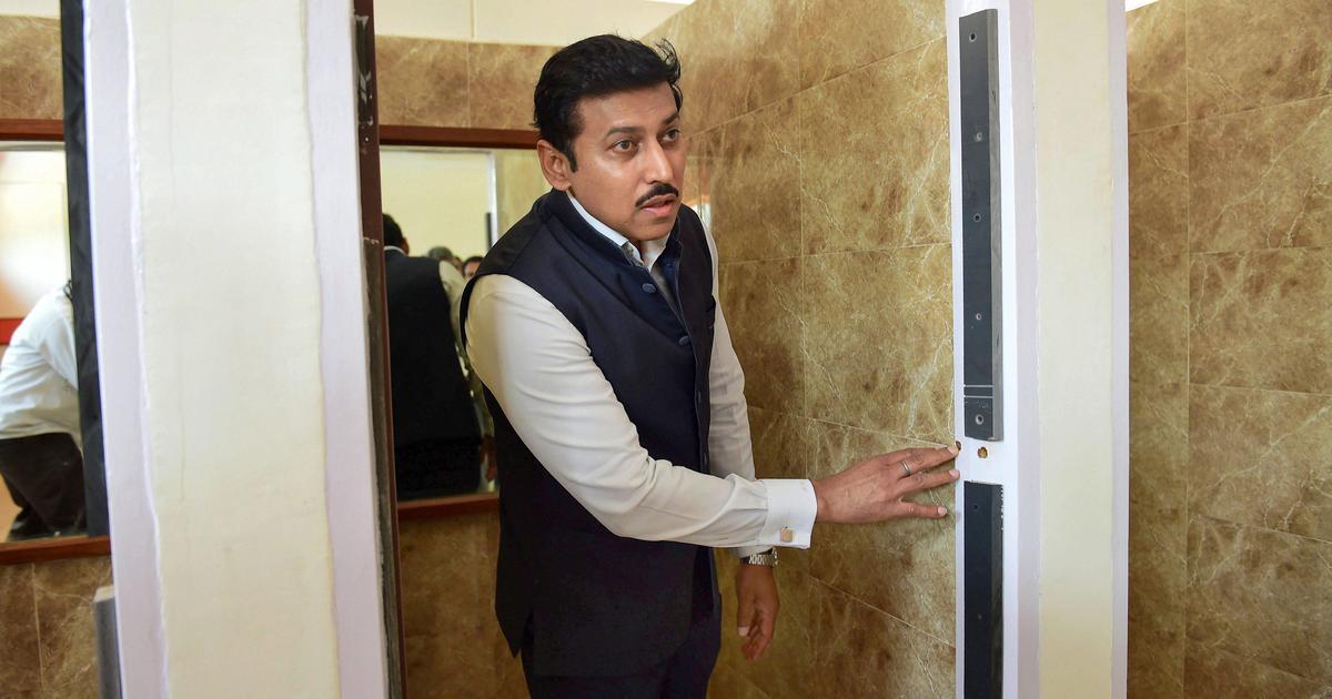 I&B Minister Rajyavardhan Rathore says Centre has no plan to control social media