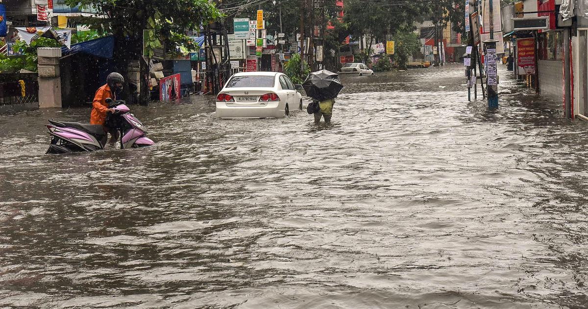 Kerala: Rain disrupts road and rail traffic, educational institutions closed in eight districts