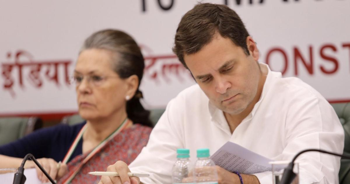 In Rahul Gandhi's Congress working committee, a balance of Sonia loyalists and younger faces