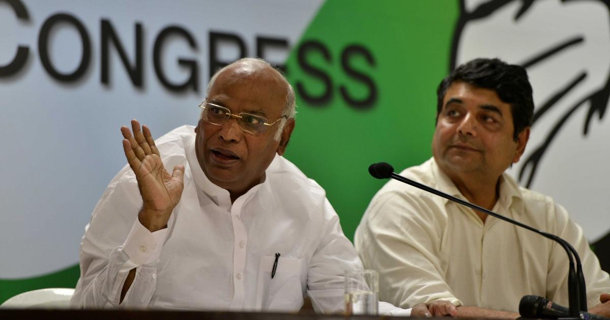 Congress leader Mallikarjun Kharge again declines Centre's invitation to Lokpal selection meeting