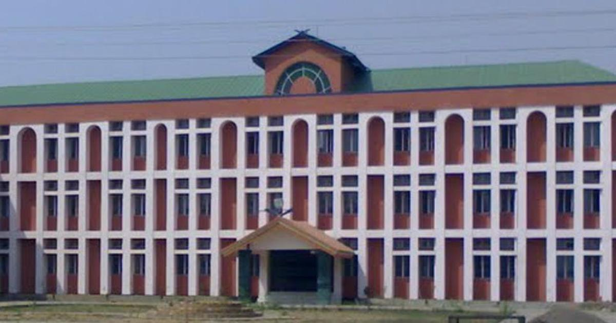 Two policemen suspended for injuring students demanding removal of Manipur University VC