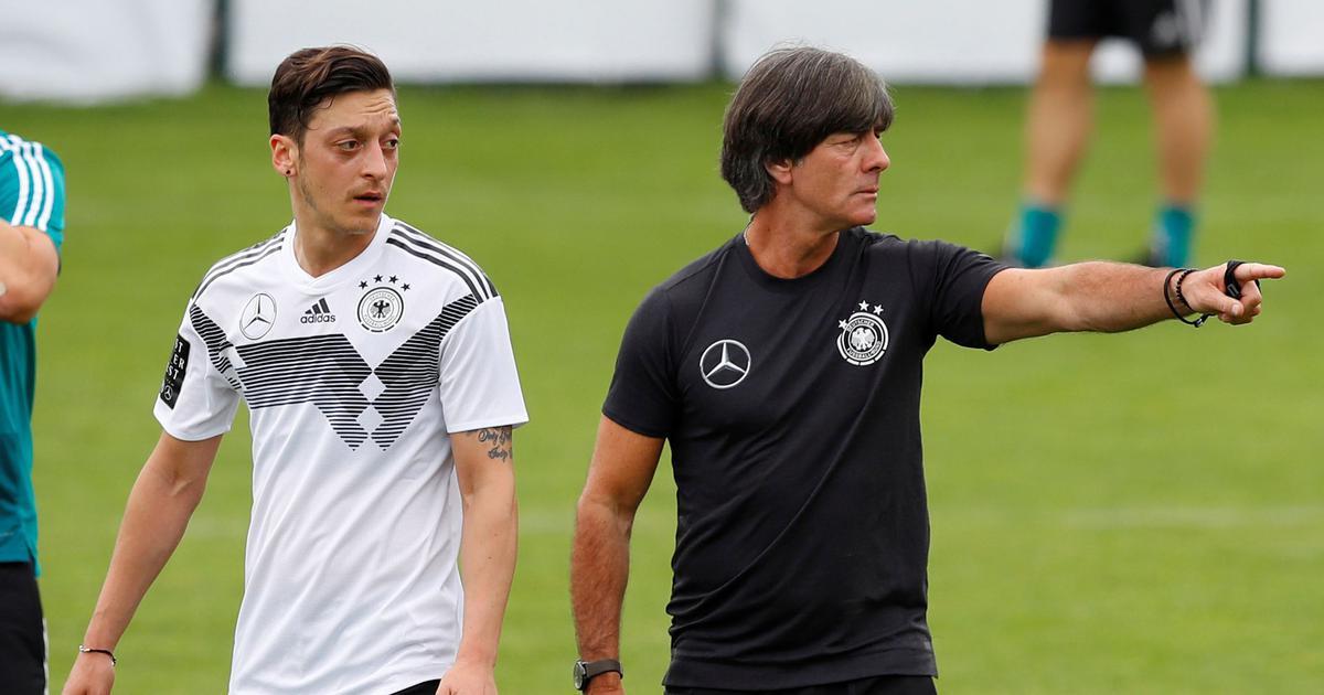 Germany coach Joachim Loew claims he wasn't informed in advance about Mesut Ozil's retirement