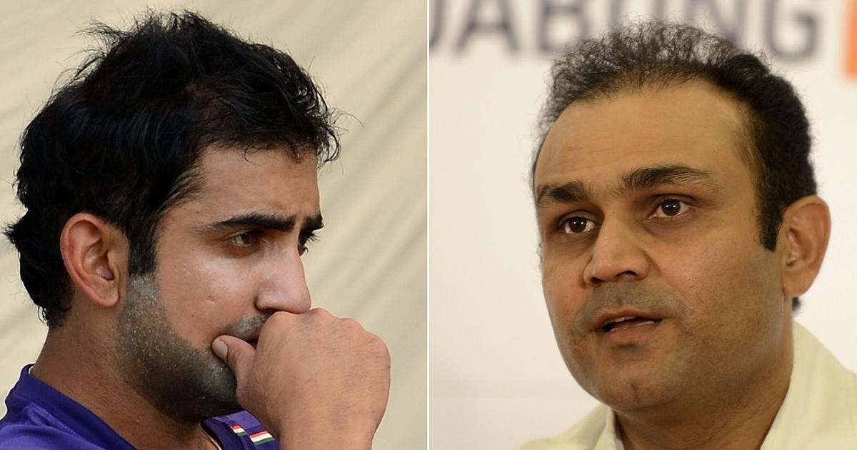 Former India players Virender Sehwag, Gautam Gambhir included in DDCA's Cricket Committee