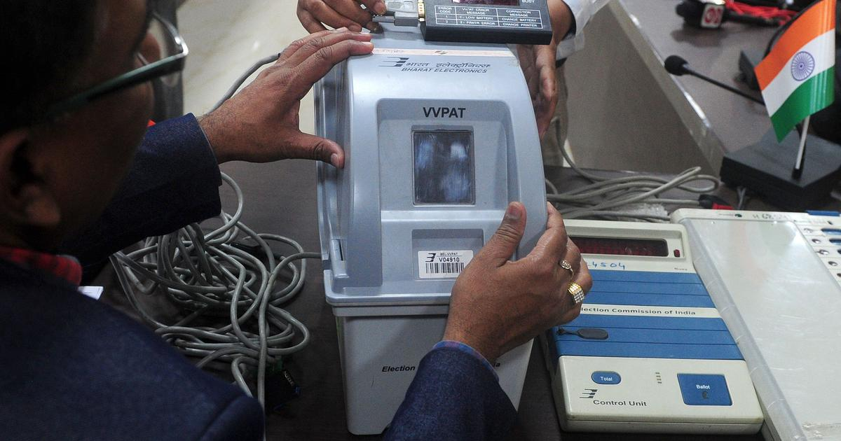 Delivery of VVPAT machines for 2019 Lok Sabha polls delayed, says Election Commission