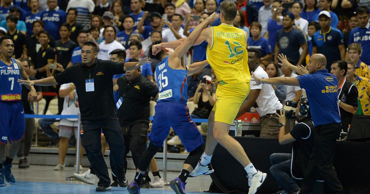 Philippines basketball pulls out of Asian Games after sanctions for on-court brawl with Australia