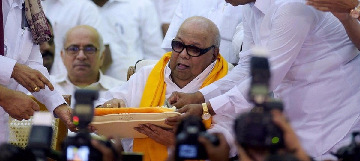 The big news: DMK chief Karunanidhi admitted to a Chennai hospital, and nine other top stories