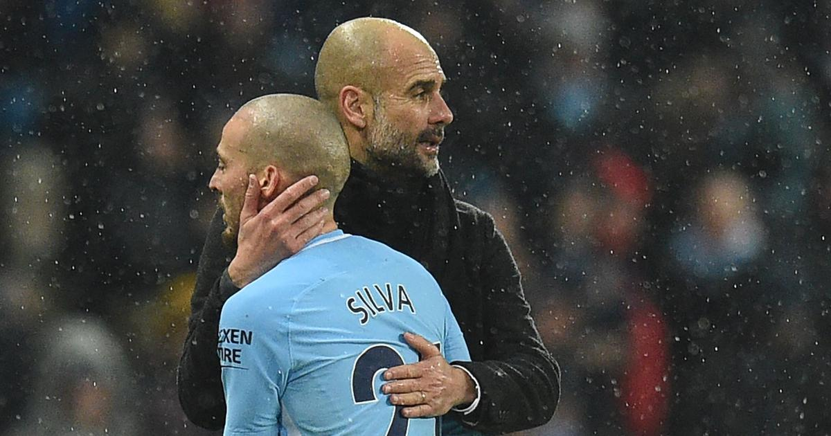 Guardiola and City helped me get through the toughest period of my life, says Silva