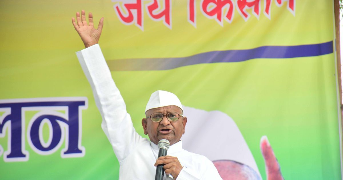 Anna Hazare to go on hunger strike from October 2 to protest delay in appointing Lokpal