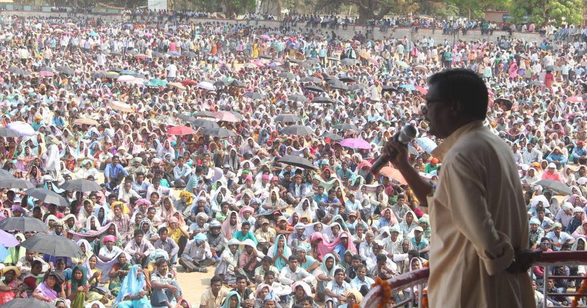 Jharkhand: Police file sedition cases against 20 people for their role in Pathalgadi protests