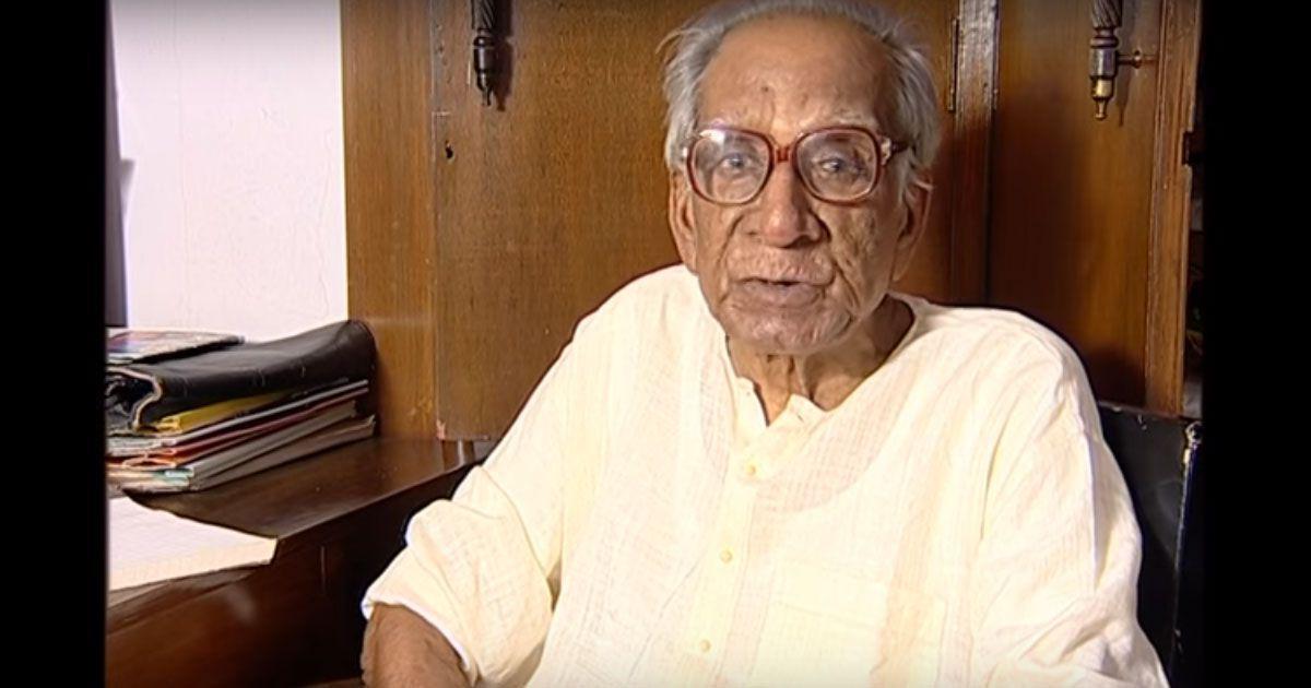 Sahitya Akademi award winner Ramapada Chowdhury dies at 95