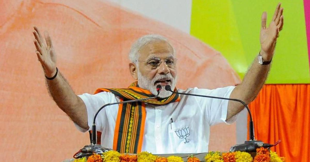 Modi thanks Congress for no-confidence motion, says it helped him expose the Opposition's hollowness