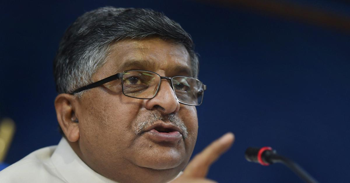 'Social media sites should find technological solutions to curb fake news,' says Ravi Shankar Prasad