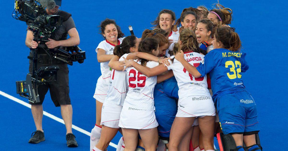 Women's hockey World Cup: Spain stun Germany, Australia beat Argentina to reach semis