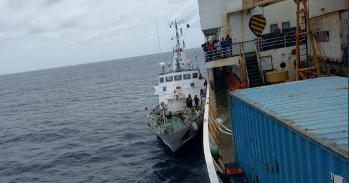 Indian Coast Guard rescues 343 people from flooded passenger ship off Car Nicobar Islands
