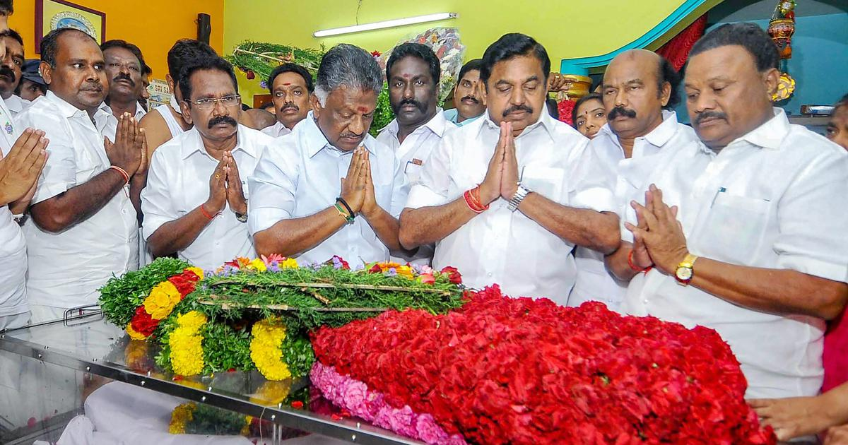 Tamil Nadu: Ruling party legislator AK Bose dies in Madurai