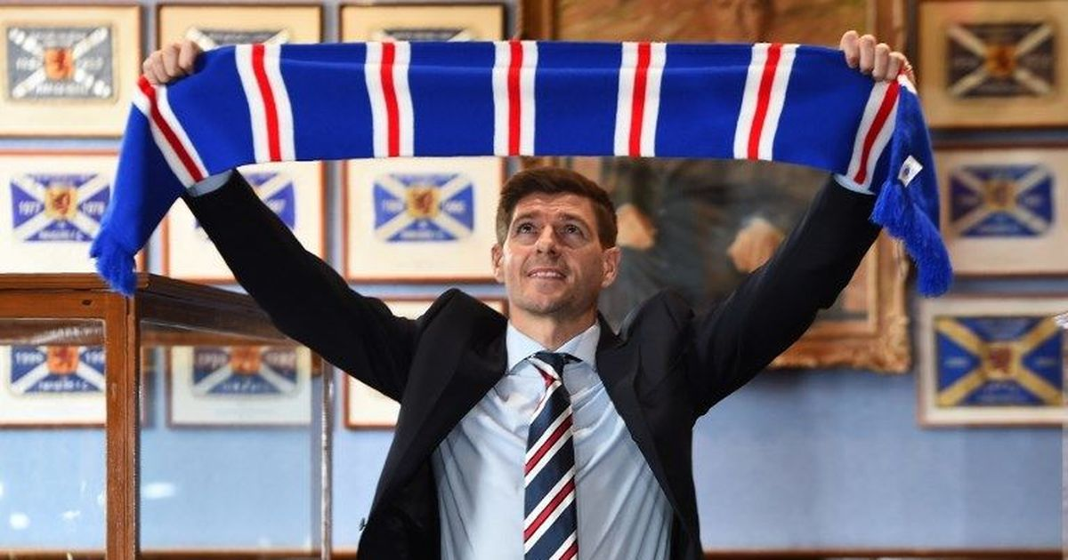 'We don't want added pressure': Manager Gerrard shrugs off Rangers title talk