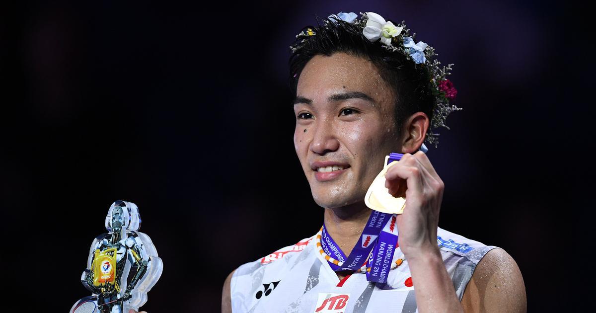 Kento Momota becomes first Japanese man to win the Badminton World Championships