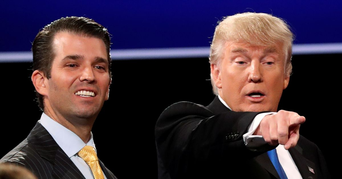 Donald Trump admits his son met Russian officials in 2016 to seek information on Hillary Clinton