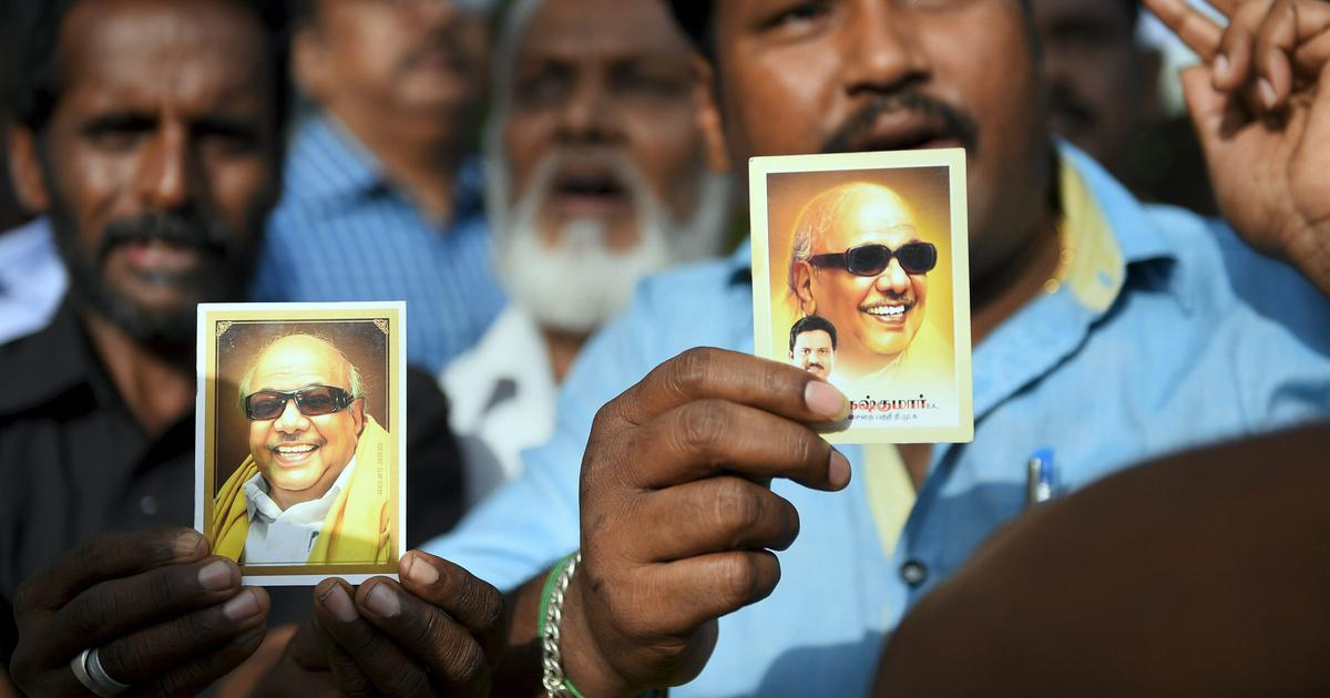 Tamil Nadu: 'Karunanidhi's condition is extremely critical and unstable,' say doctors