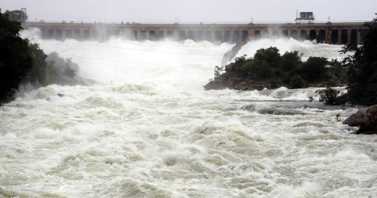 Flood alert in six Cauvery districts as Karnataka releases water