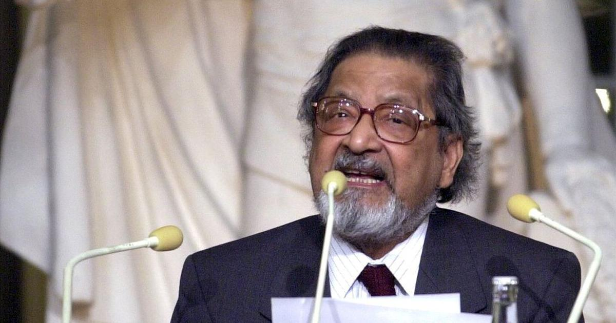 'Two worlds': VS Naipaul's 2001 Nobel lecture