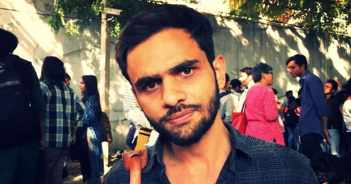 Delhi: JNU student activist Umar Khalid attacked outside Constitution Club