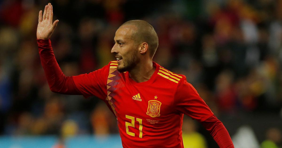 Spain's David Silva announces retirement from international football