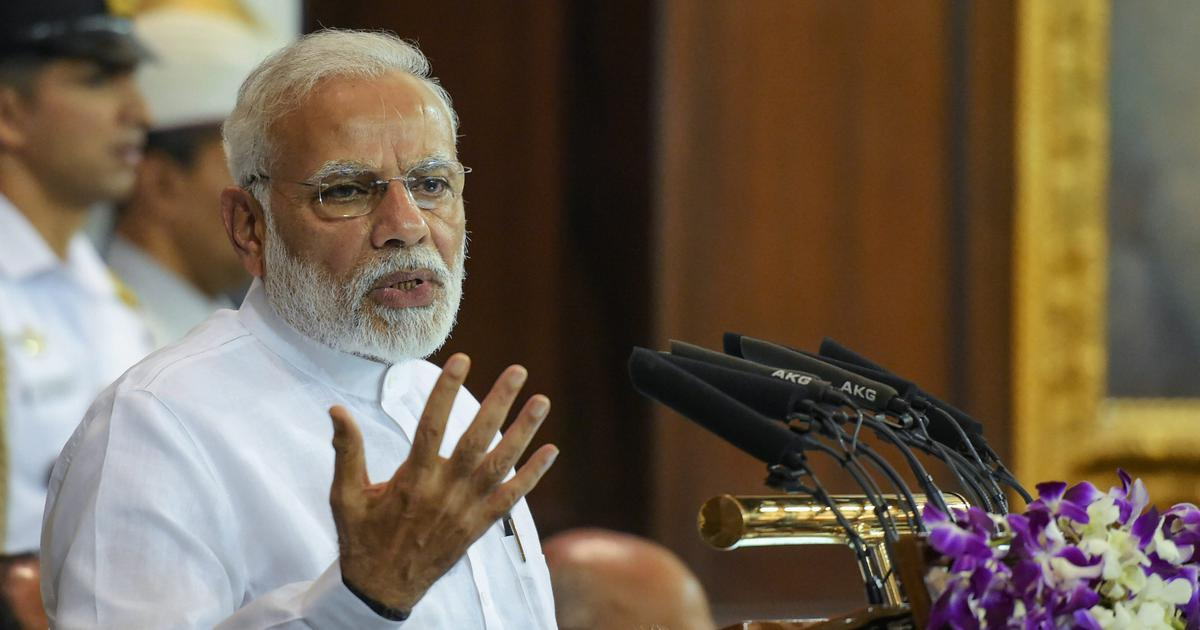 India will launch a manned mission to space by 2022, announces Narendra Modi