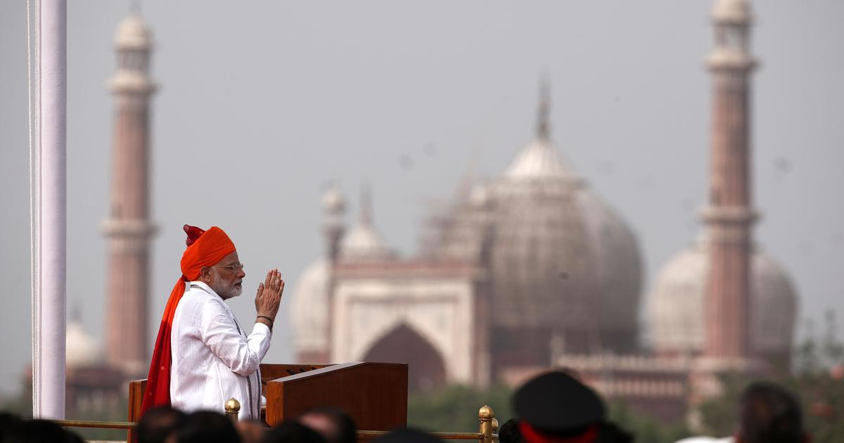 Independence Day: 'Impatient' Modi delivers a clear (but forgettable) pitch for 2019