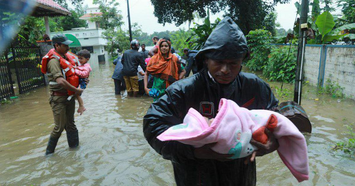 Kerala floods: 25 people killed in rain-related incidents on Wednesday, says CM