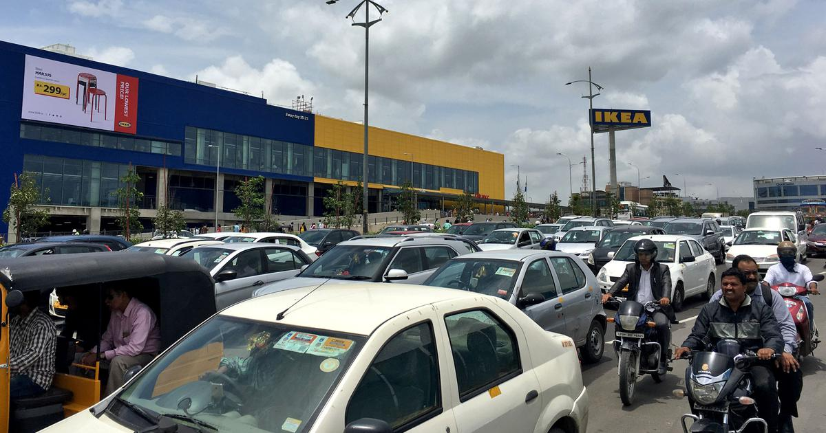 IKEA's India store has seen such a rush that it's telling customers to slow things down