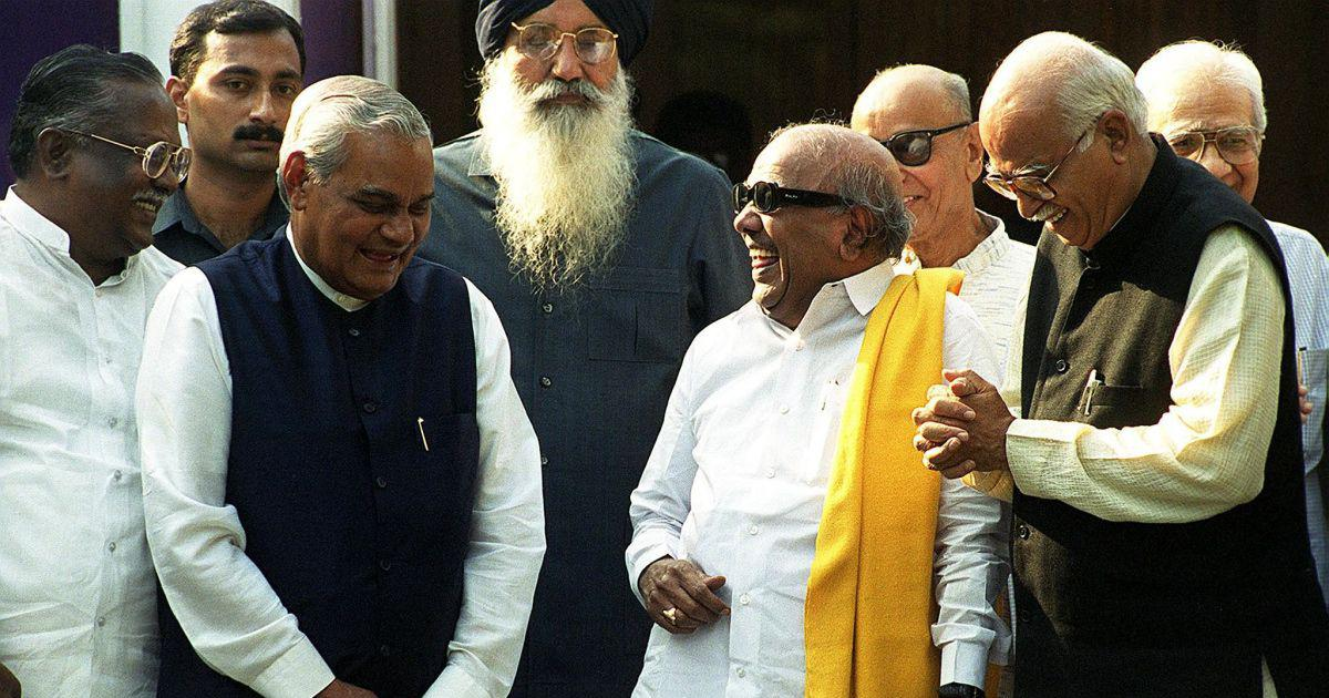 Vajpayee and Karunanidhi: Their disparate careers point to the fault lines in Indian federalism