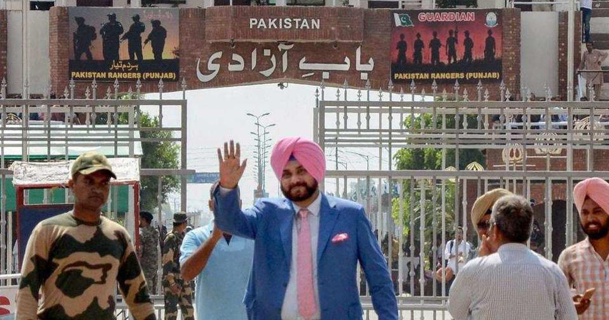 Punjab: Opposition criticises Navjot Singh Sidhu for hugging Pakistan Army chief in Islamabad