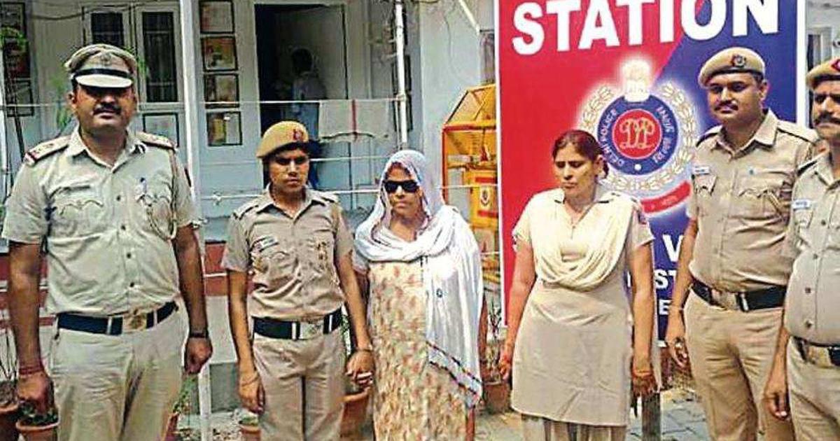 Delhi Police arrest 'godmother of crime' in contract killing case