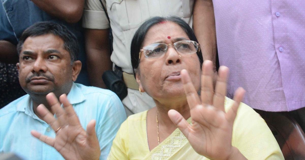 Muzaffarpur rape case: Bihar Police book former social welfare minister and her husband