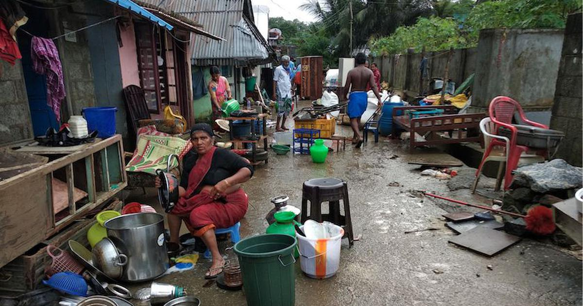 At a relief camp housing labourers in Kerala's flood-hit Palakkad, the job hunt has begun