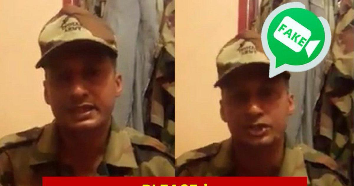 Kerala floods: Indian Army says man who criticised chief minister in a video is an imposter