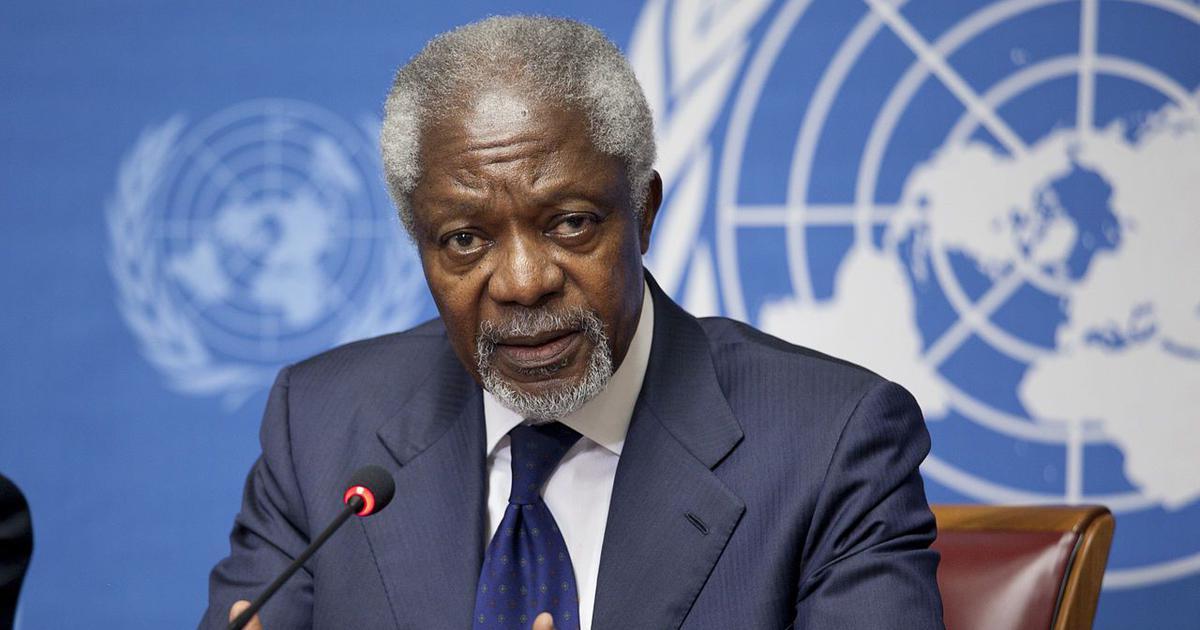 Kofi Annan: A complicated legacy of impressive achievements, and some profound failures