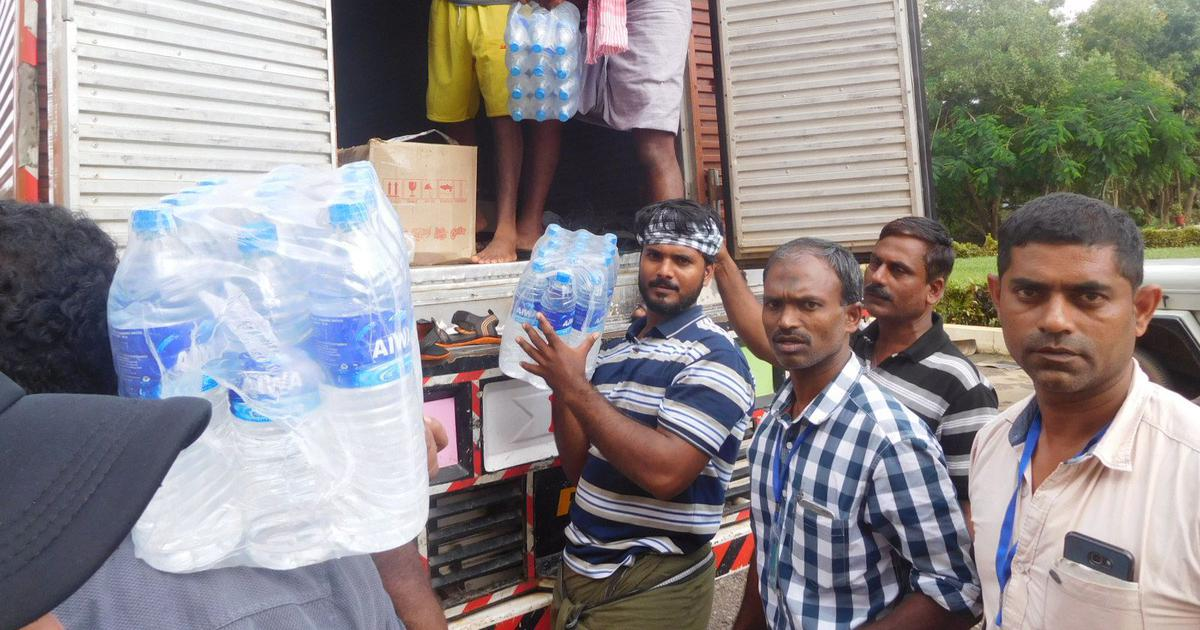 Kozhikode fishermen coordinate fund drive, provide essentials worth Rs 2 lakh to flood victims