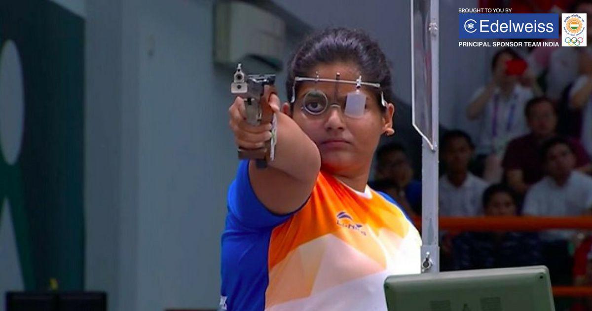 Rahi Sarnobat becomes first Indian woman to win a shooting gold at Asian Games